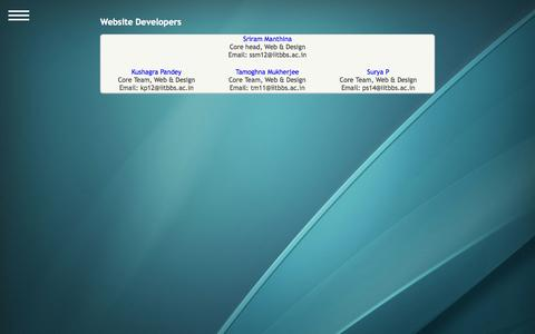Screenshot of Developers Page wissenaire.org - Developers - captured Oct. 9, 2014
