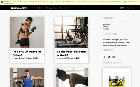 Training - Blog