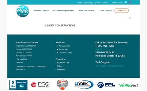 Screenshot of Blog prideac.com - Blog News - PrideAC - captured Dec. 22, 2017