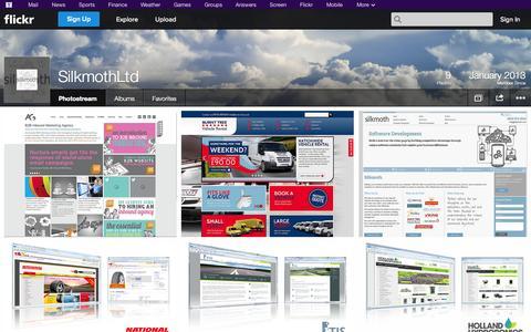 Screenshot of Flickr Page flickr.com - Flickr: SilkmothLtd's Photostream - captured Oct. 23, 2014