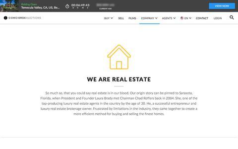 Luxury Real Estate Auction Company   Concierge Auctions