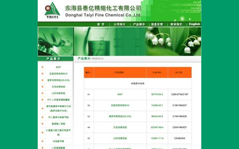 Screenshot of Products Page shidachem.com - 甯曞凹鍩瑰崡渚ч摼銆佹瘮闃垮煿鍗椾晶閾�娉颁嚎绮剧粏鍖栧伐 - captured April 25, 2016