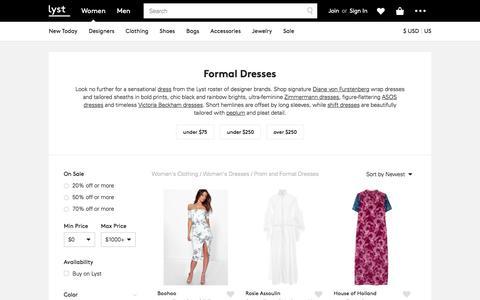 Formal Dresses | Shop Beautiful Formal & Evening Dresses | Lyst