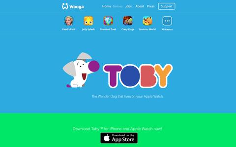 Screenshot of wooga.com - Toby™ by Wooga - captured March 19, 2016
