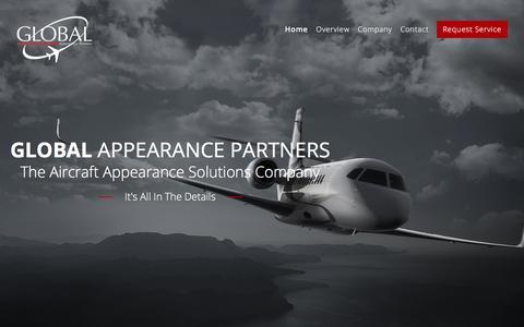 Screenshot of Home Page global-appearance.com - Global Appearance - captured July 5, 2017
