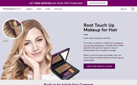 Madison Reed Root Touch Up for Natural-Looking Root Coverage