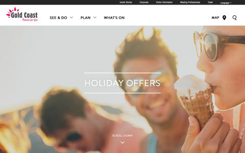 Gold Coast Holiday Offers