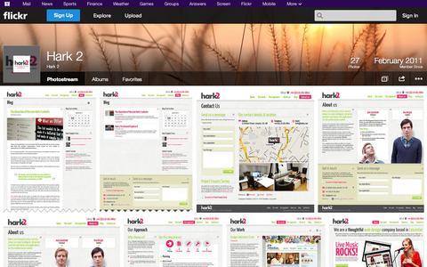 Screenshot of Flickr Page flickr.com - Flickr: Hark 2's Photostream - captured Oct. 22, 2014