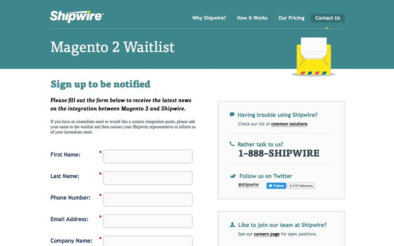 Shopping Cart Waitlist | Shipwire Order Fulfillment