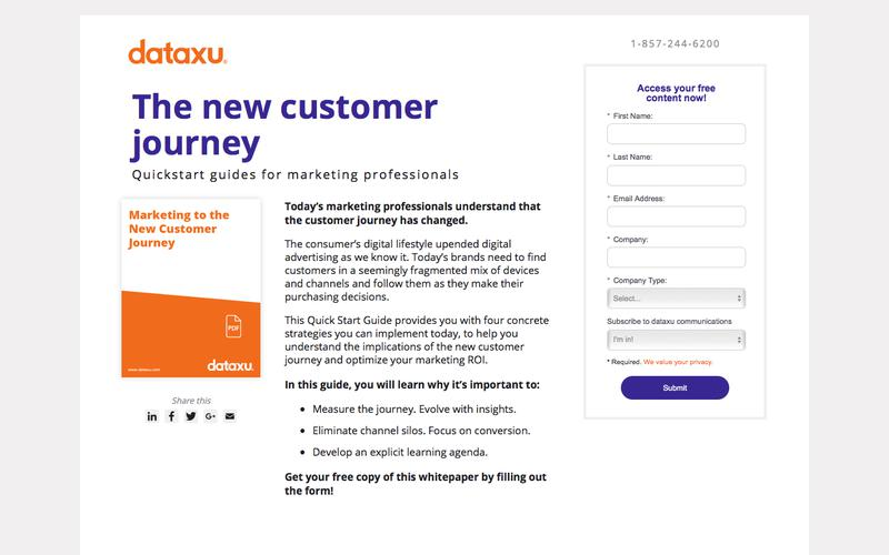 Whitepaper: Marketing to the New Customer Journey
