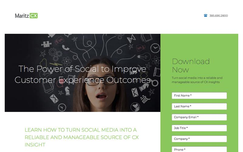 The Power of Social to Improve Customer Experience Outcomes | MaritzCX