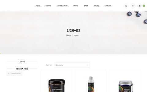 Cosmetici Uomo: prodotti naturali e vegani