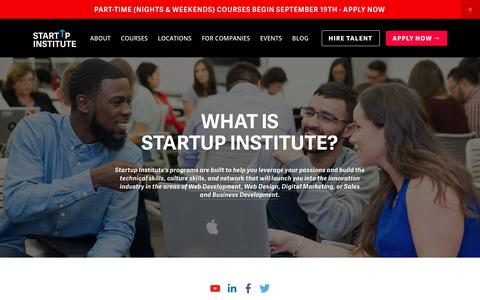 About Startup Institute | Startup Institute