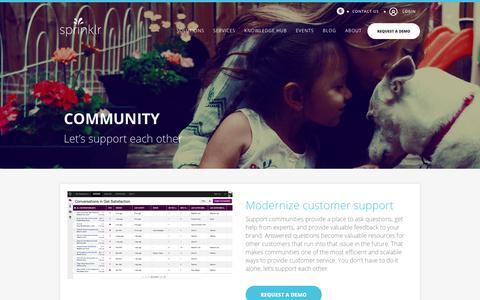 Social Media Community: Complete Social Media Communities - Sprinklr