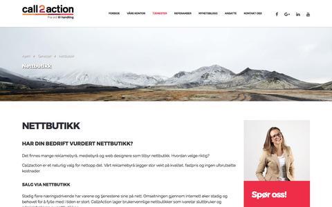 Nettbutikk - Call2action Stavanger AS