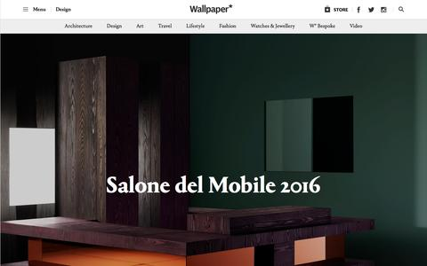 Salone del Mobile 2016 | Wallpaper*