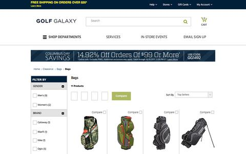 Discount Golf Bags | Golf Galaxy