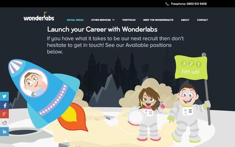 Screenshot of Jobs Page wegotapulse.com - Careers in Web Design, Development, SEO & SMM - captured Oct. 9, 2014