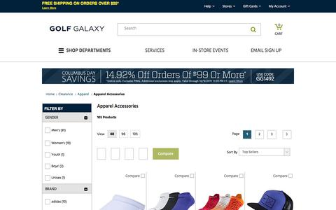 Discount Golf Apparel Accessories - Hats, Belts & More | Golf Galaxy