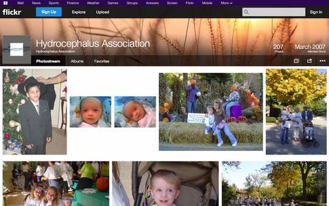 Screenshot of Flickr Page flickr.com - Flickr: Hydrocephalus Association's Photostream - captured Oct. 22, 2014
