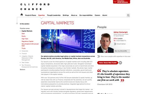Clifford Chance | Capital Markets