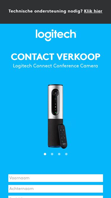Logitech Connect Conference Camera | Contact Us