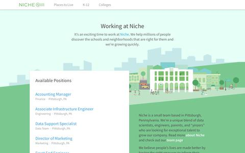 Niche.com - Job Board