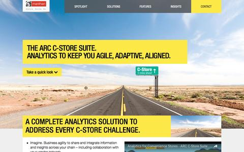 Analytics for Convenience Stores - ARC C-Store Suite from Manthan