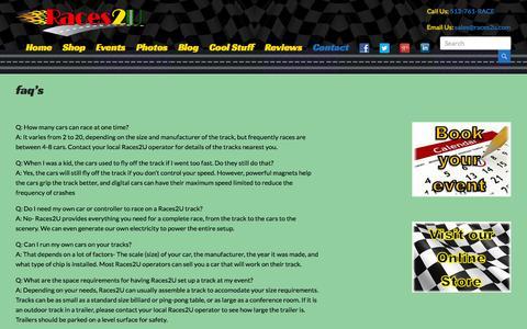 Entertainment & Lifestyle FAQ Pages on WordPress | Website