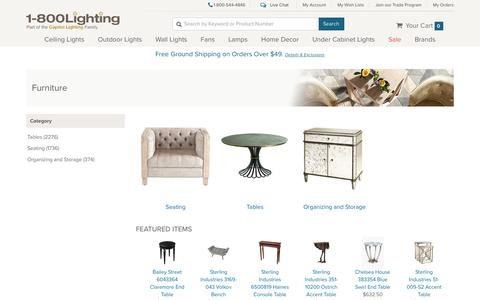 Decorative Home Furniture, Tables, Chests and More | Capitol Lighting 1-800lighting.com