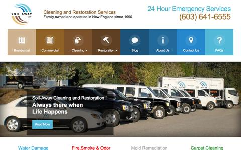 Screenshot of Login Page soilaway.com captured Oct. 7, 2014