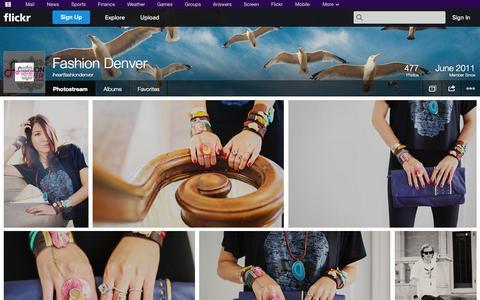 Screenshot of Flickr Page flickr.com - Flickr: iheartfashiondenver's Photostream - captured Oct. 23, 2014