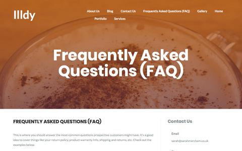 Frequently Asked Questions (FAQ) – Sarah Marcham