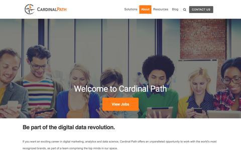 Screenshot of Jobs Page cardinalpath.com - Careers | Cardinal Path - captured April 9, 2019
