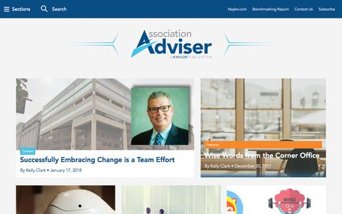 Association Adviser – Leadership Strategies & Best Practices for Association Professionals