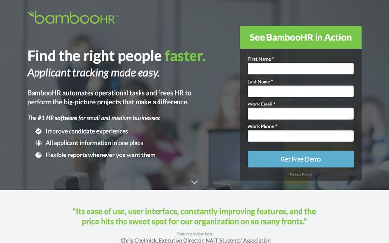 BambooHR | HR Software for Small and Medium Businesses