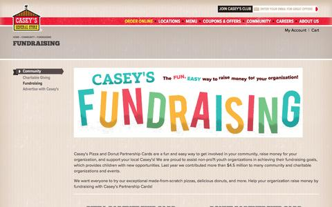 Fundraising | Casey's General Store