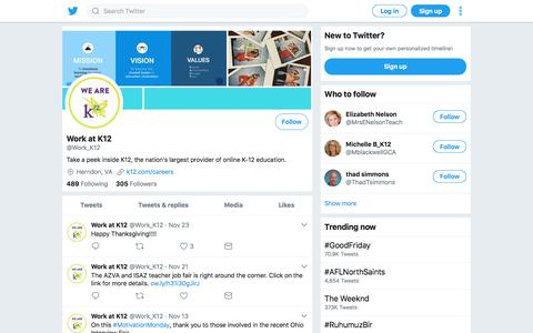 Tweets by Work at K12 (@Work_K12) – Twitter