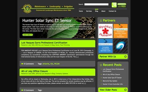 Screenshot of Blog wcgminc.com - Blog   WCGM, Inc. - captured Oct. 9, 2014