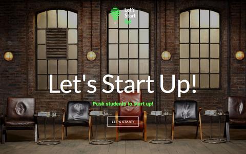 Screenshot of Home Page letsstartup.pl - Let's Start Up! - captured July 21, 2015