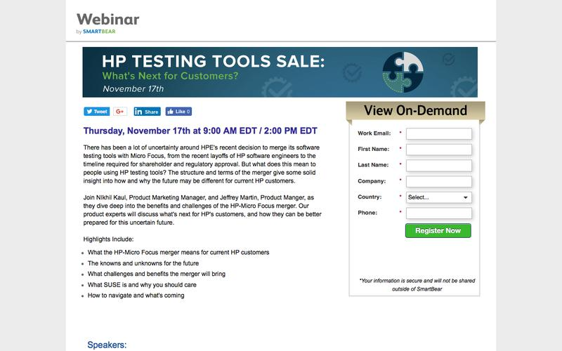 HP Testing Tools Sale: What's Next for Customers?
