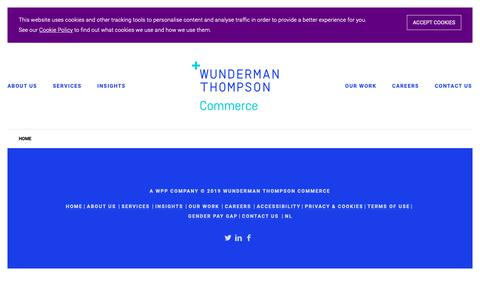 Screenshot of Team Page wundermanthompsoncommerce.com - - Wunderman Thompson Commerce - captured April 23, 2019
