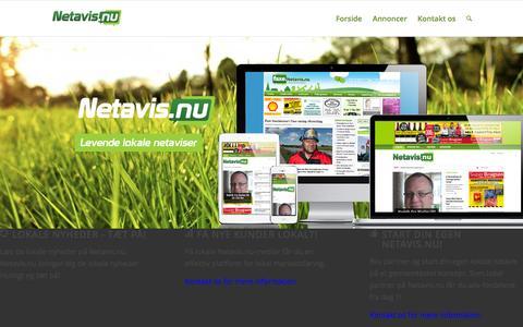 Screenshot of Home Page netavis.nu - Netavis | - captured Feb. 17, 2016