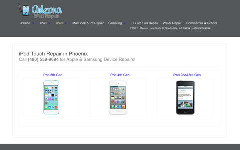 iPod Touch Repair in Phoenix | Phoenix iPad and IPhone Repair Specialist