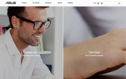 Screenshot of Home Page asus.com - ASUS Türkiye - captured Oct. 14, 2015