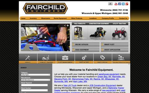 Screenshot of Locations Page meelift.com - Lift Trucks For Sale & Rent WI, MN & MI: Aerial Lifts, Yard Spotter Trucks, Floor Scrubbers, Warehouse Equipment, Safety Training, Forklift Tires - captured Oct. 3, 2014