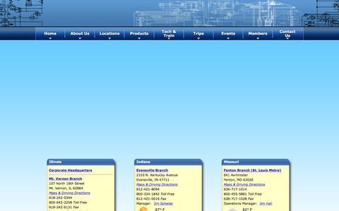 Screenshot of Contact Page benoist.com - Locations | benoist.com | benoist.com - captured Feb. 7, 2016