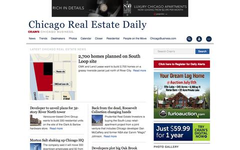 Chicago real estate news, trends and photos