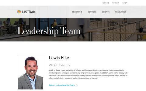 Lewis Fike   Leadership Team   Listrak