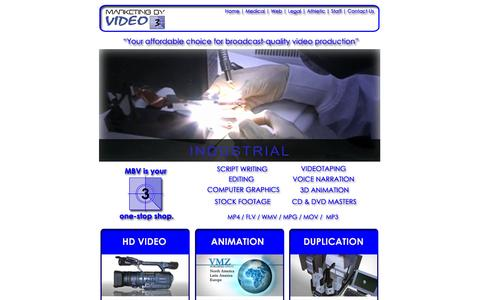 Screenshot of Home Page marketingbyvideo.com - Marketing By Video - Video Production - In Minneapolis, St. Paul,  Minnesota - captured Sept. 30, 2014